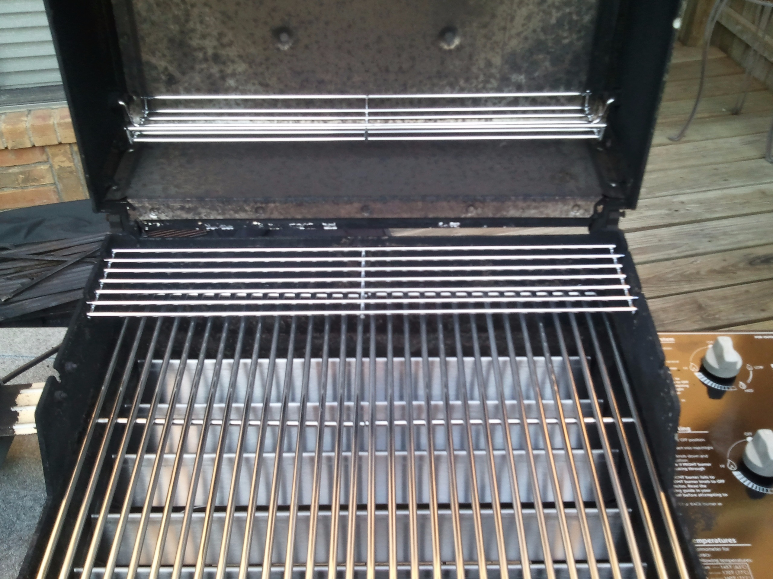 how to clean your weber gas grill
