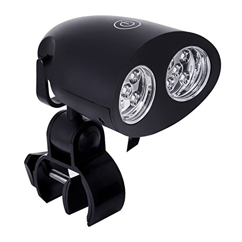 RoyalGourmet Barbecue Grill Light – Ultra Bright Handle Mount LED Illuminates Your Entire Outdoor Barbecue, Durable, Weather Resistant and Touch Sensor Switch, TL0401