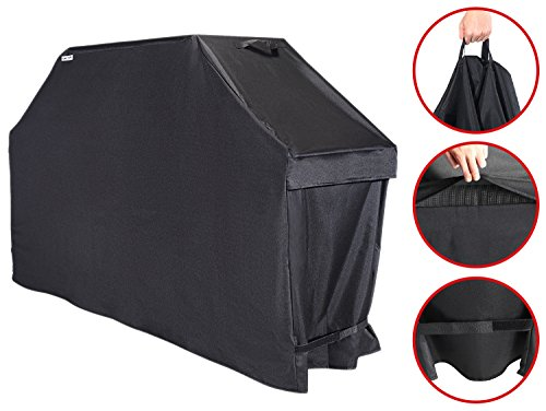 Unicook Heavy Duty Barbecue Grill Cover, 70-inch, Easy Lifting Handles, Helpful Air Vents, All Weather Protection
