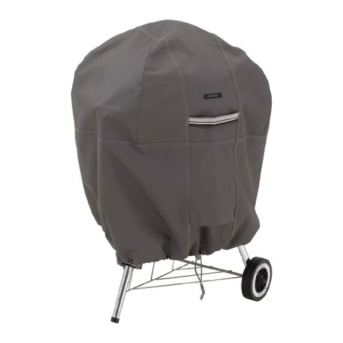 Classic Accessories 55-178-015101-EC Ravenna Kettle Grill Cover, Taupe