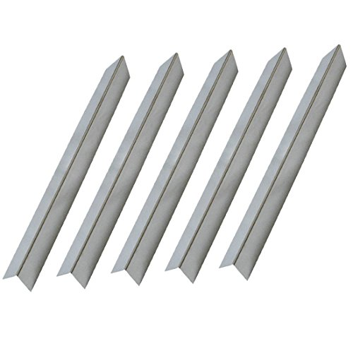 Onlyfire Gas Grill Replacement Stainless Steel Flavorizer Bars/Heat Plate for Weber 7537, Set of 5 , 22 1/2″