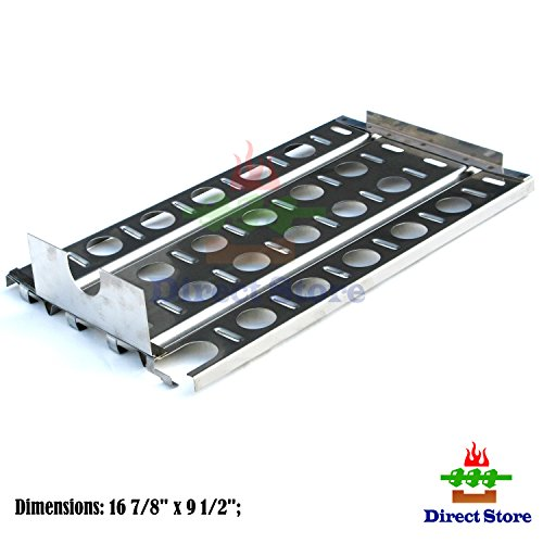 Direct store Parts DP114 (1-pack) Stainless Steel Heat plates Replacement Lynx Gas Grill Models (1)