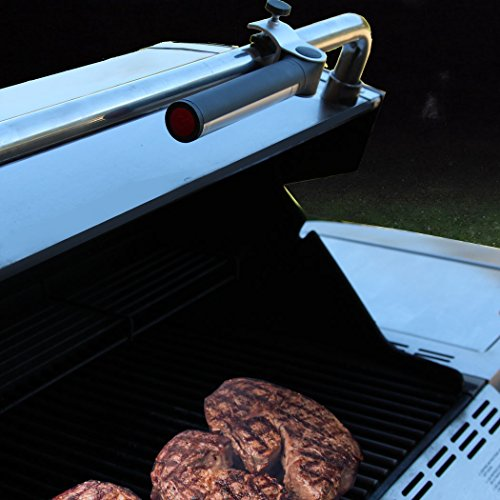 Light Accents Battery Operated LED Barbecue Light – BBQ Light, Aluminum clamp