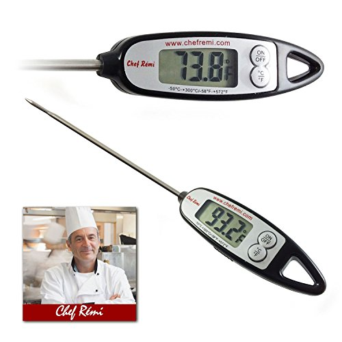 Latest Digital Cooking Thermometer | Lifetime Replacement Warranty | Instant Read | Best for Turkey, Meat, Oven, Oil, Kitchen, Grill, BBQ, Candy any Any Food| Rated No.1 Grill Accessories
