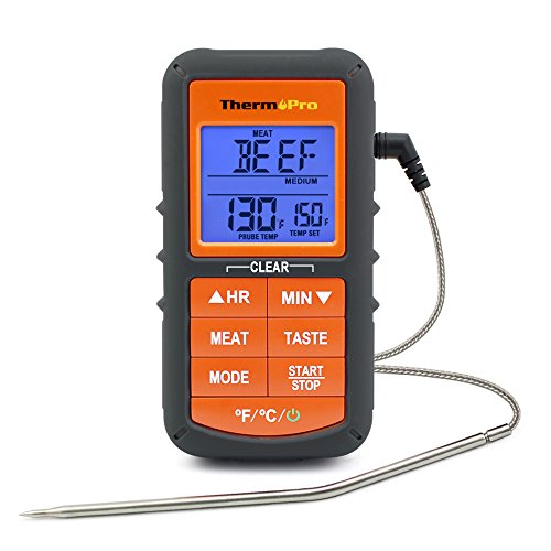 ThermoPro TP06S Kitchen Digital Cooking Food instant Read Meat Thermometer with Probe for Grill Smoker BBQ Thermometer