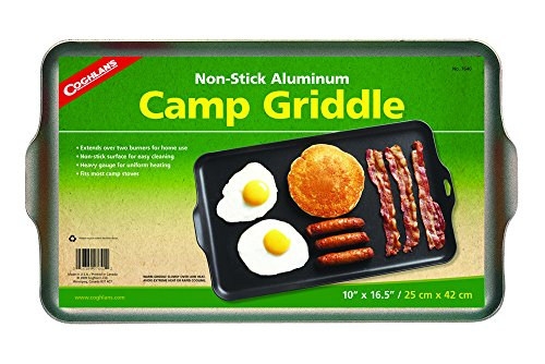 Coghlan's Two Burner Non-Stick Camp Griddle, 16.5 x 10-Inches